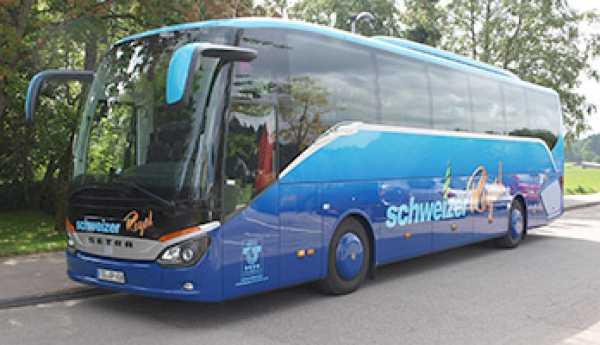 Anfahrt für Busse